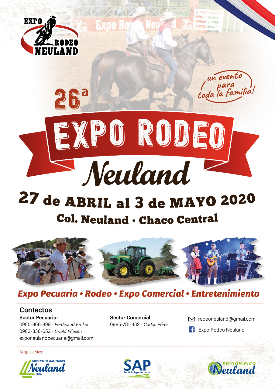 26º Expo Rodeo Neuland